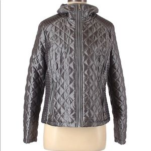 NWOT Marc New York Andrew Marc Quilted Gray Jacket